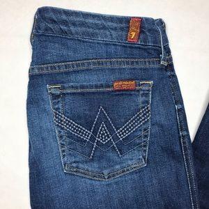 Women's 7FAM 'A' Pocket Flare Jeans